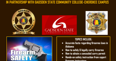 Cherokee County Sheriff's Office to hold another citizen's firearms safety course